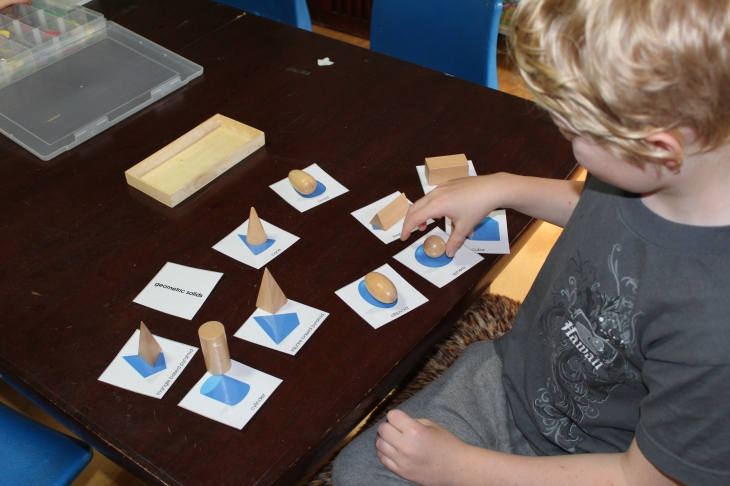 Montessori Shape cards