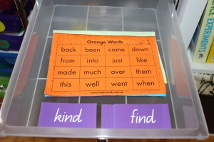 sight words homeschooling