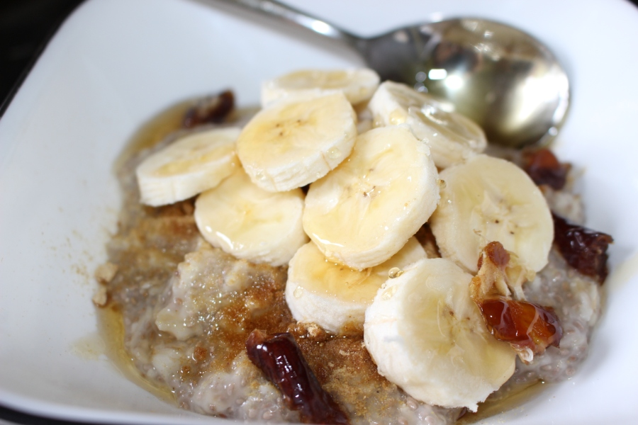 Easy Chia seed and Oat porridge