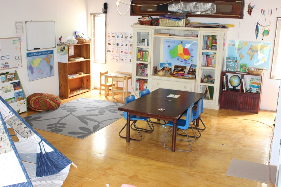 Our Homeschool Space, 2016.